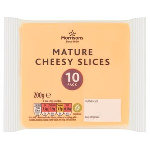 Morrisons Mature Cheese Slices
