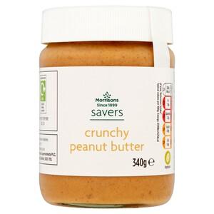 Morrisons Savers Crunchy Peanut Butter